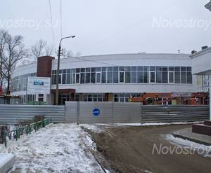 Спорткомплекс (в процессе строительства) (12.12.2014)