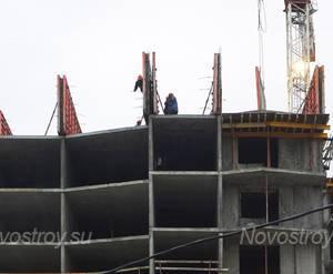 Строительство ЖК «Авангард» (20.12.2014)