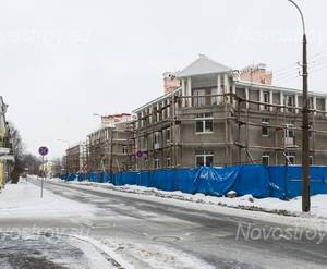 ЖК «Бастион»: строительная площадка (11.01.2015)