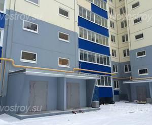ЖК «Дом в микрорайоне №6»: входная группа 18.01.2015