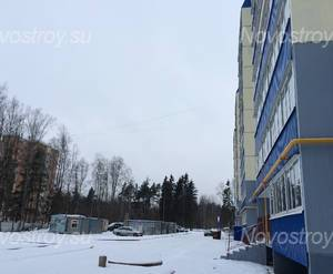 ЖК «Дом в микрорайоне №6»: строительная площадка  18.01.2015