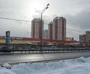 ЖК «Южная Звезда»: вид на ЖК и инфраструктуру, 09.02.2015