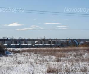 ЖК «Остафьево»: строительная площадка, 18.02.2015