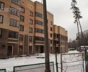 ЖК «на ул. Малыгина»: вид на ЖК, 19.02.2015