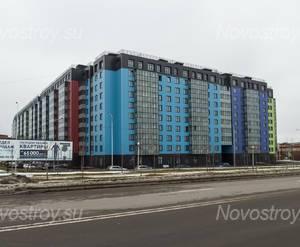 ЖК «Самое сердце»: вид на комплекс с ул. Архитектора Данини(фото 1) 27.02.2015