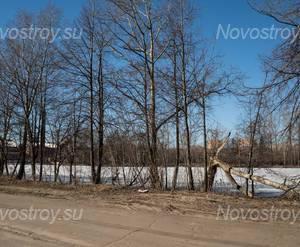 ЖК «На Заречной»: набережная напротив ЖК, 17.03.2015