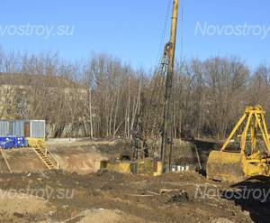 ЖК «на улице Железнодорожная»: Строительство 14.03.2015 г.