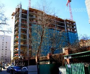ЖК «Карамель»: 16.03.2015 - Строящийся корпус
