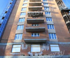ЖК «Лиственный»: фасад II-й очереди. 14.03.15