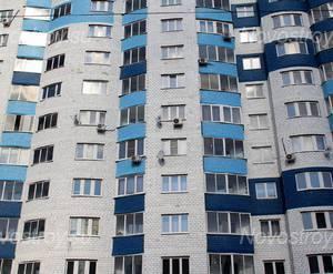 ЖК «Дом на Горького»: 08.04.2015 - Фрагмент средних этажей, вид с ул Горького