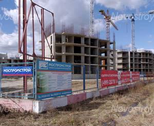 ЖК «в поселке Архангельское»: Строящиеся корпуса, 10.04.2015 г.