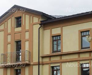 ЖК «Особняк у парка»: фасад здания (21.04.2015)