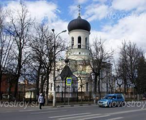 ЖК «Авиатор» (г. Наро-Фоминск): Неподалеку Никольский собор. 23.04.2015