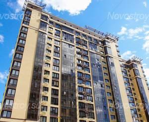 ЖК «Авиатор» (г. Наро-Фоминск): Фрагмент здания. 23.04.2015