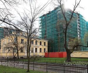 ЖК «Радищева, 39»: прилегающая территория (02.05.2015)