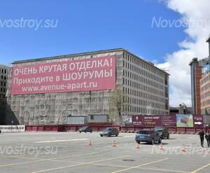 МФК «Avenue-Apart»: общий вид. 03.05.2015