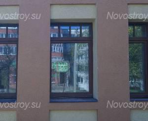 ЖК «Особняк у парка»: окна первого этажа (12.05.15)