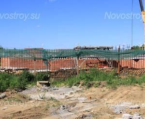 ЖК «Фединская слобода»: 11.06.2015 - Фундамент строящегося корпуса