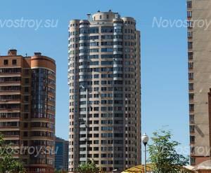 ЖК «Реутов 9А»: вид на ЖК, 10.06.2015