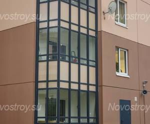 ЖК «На Травяной»: балконы корпуса 44 (17.06.15)