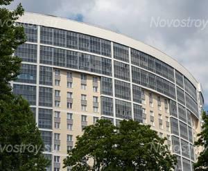 ЖК «Молодёжный»: фасад здания со стороны метро Пролетарская(19.06.2015)