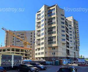 ЖК «Девяткино»: вид с ул. Флотская (13.06.2015)
