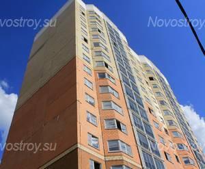 ЖК «в поселке Андреевка»: 24.06.2015 - Фрагмент корпуса, верхние этажи
