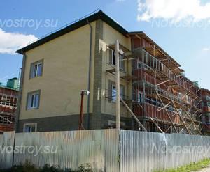 ЖК «Зеленая Москва - 1»: Строящийся корпус. 28.07.2015