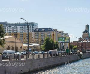 ЖК «Тапиола»: расположение на набережной (14.08.2015)