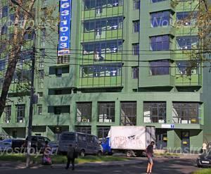 ЖК «на Циолковского»: 24.08.2015 - Фрагмент корпуса, нижние этажи