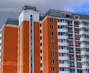 ЖК «мкрн. Лесной»: 15.09.2015 - Фрагмент корпуса, верхние этажи