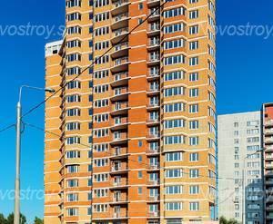 ЖК «Дом в Мытищах»: 18.09.2015 Фасад со стороны улицы