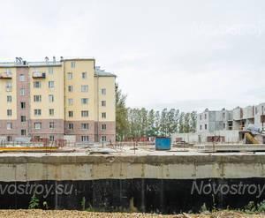 ЖК «в микрорайоне Ленсоветовский»: общий вид (01.10.2015)