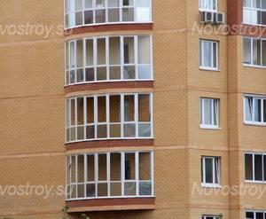 ЖК «Дом в микрорайоне 5А, 17»: 06.10.2015 - Фрагмент построенного дома