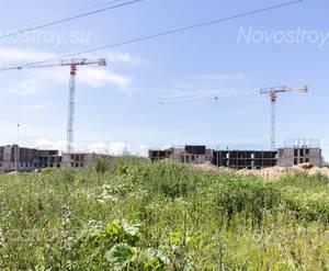 Ход строительства ЖК «Солнечный каскад» (02.07.2015)