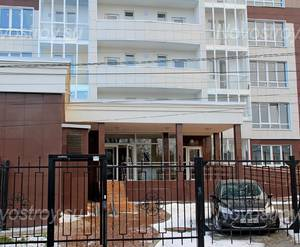 ЖК «Макеевский»: 13.12.2015 - Фрагмент построенного корпуса