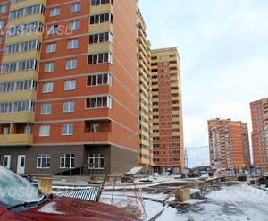 ЖК «Супонево Life»: 16.12.2015 - Строящийся дом, вид со двора