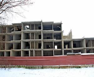 ЖК «Огни Ногинска»: 18.12.2015 - Фрагмент строящегося корпуса