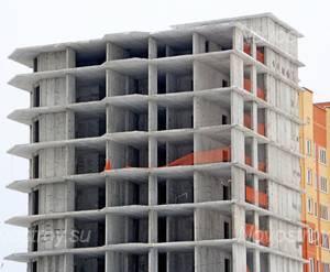 ЖК «Дом на улице Центральная усадьба»: 18.12.2015 - Фрагмент строящейся очереди