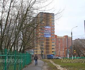 ЖК «Дом на улице Давыдова»: 20.12.2015 - Общий вид новостройки