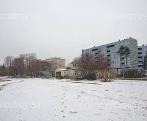 МФК «X-Home»: вид с с набережной Финского залива (16.12.2015)