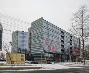 МФК «X-Home»: вид от Приморского шоссе (16.12.2015)