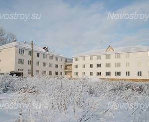 ЖК «Дом на улице Школьная, 9»: общий вид комплекса (17.01.2016)