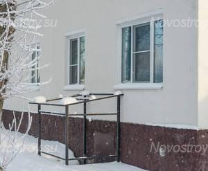 ЖК «Дом на улице Школьная, 9»: фасад 1 корпуса (17.01.2016)