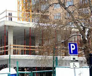 ЖК «Clasico»: 21.01.2016 - Фрагмент строящегося корпуса