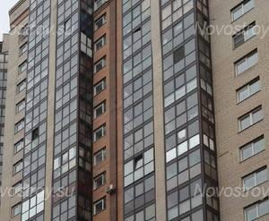 ЖК «Дом на Коломяжском, 15-1»: фасад (10.02.2016)