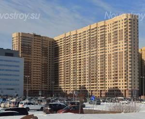 ЖК «Пулковский 2»: общий вид с прилегающей территории (18.02.2016)