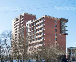 ЖК «Никольское»: общий вид здания (20.03.16)