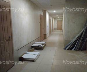 МФК «Небо Москвы»: отделка МОП