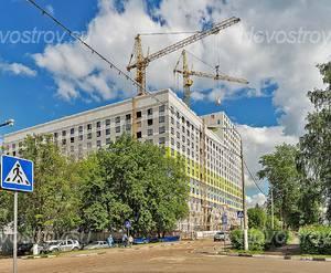 ЖК «Краснознаменская 17»: 25.05.2016 Вид с ул.Краснознаменская